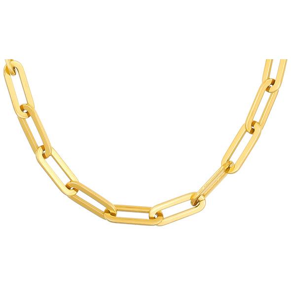 Kette - Golden Steel