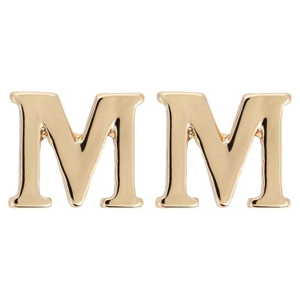 Ohrstecker - Golden M