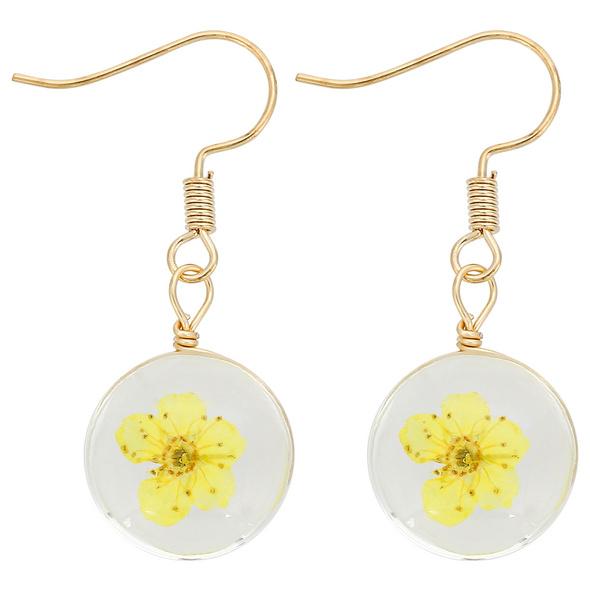 Ohrhänger - Yellow Flower