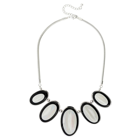 Kette - Pearly Silver