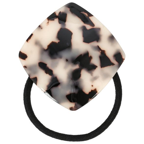 Haargummi - Black Marble