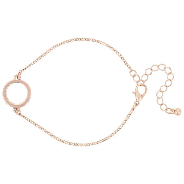 Armband - Rosé Circle