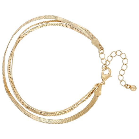 Armband - Golden Snakey