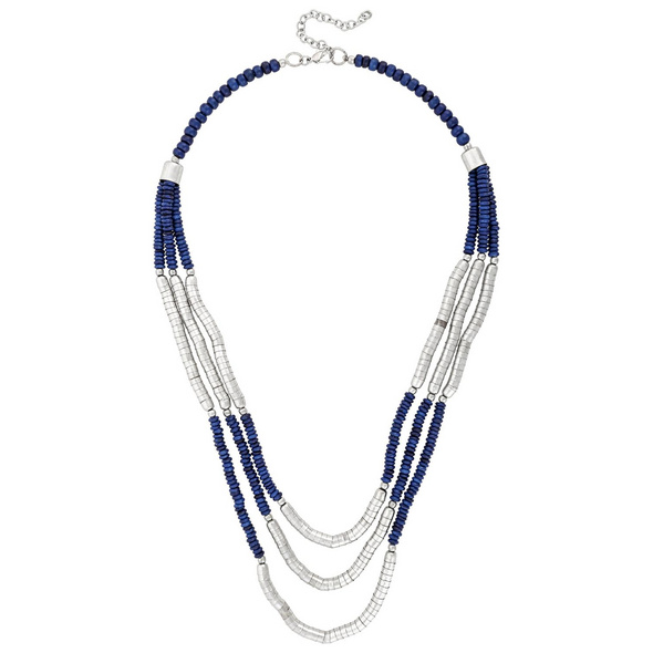 Kette - Blue Pearl