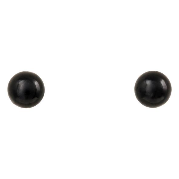 Ohrstecker - Black Pearl
