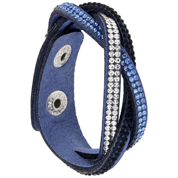 Armband - Blue Glitter