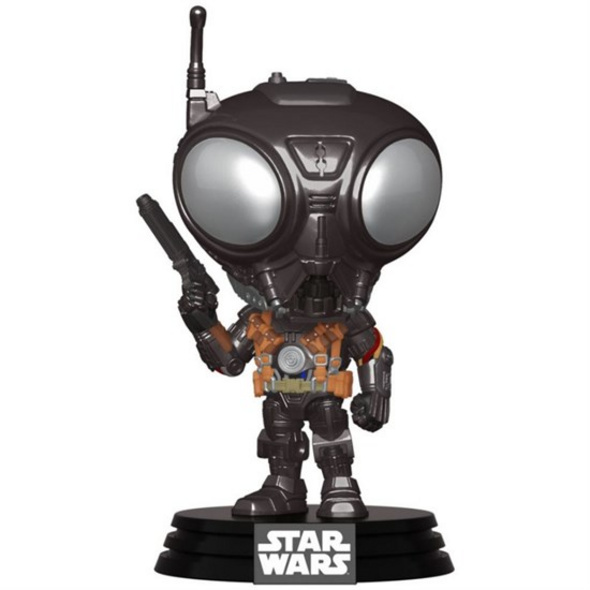 Star Wars: The Mandalorian - POP!-Vinyl Figur Q9-Zero