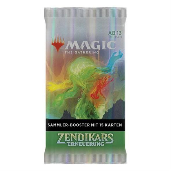 Magic the Gathering: Sammler-Booster Zendikars Erneuerung