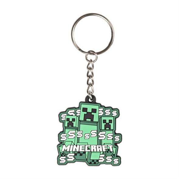 Minecraft - Schlüsselanhänger Creeper Rush