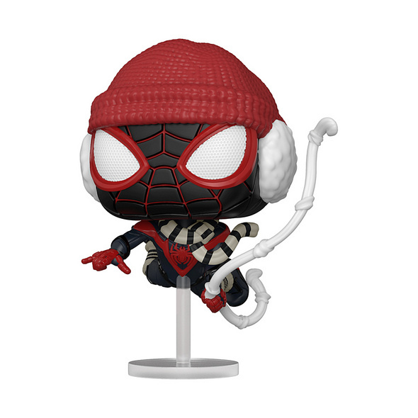 Marvel Spider-Man - POP!-Vinyl Figur Miles Morales Winter Kostüm