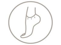 Fußkettchen - Five Golden Pearls
