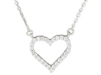 Kette - Fancy Sparkling Heart
