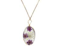 Kette - Purple Flower