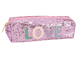 Kinder Federtasche -  Glitter Love