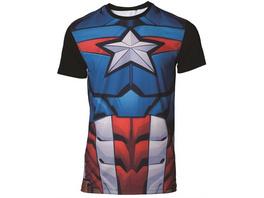 Marvel Captain America - T-Shirt (Größe M)