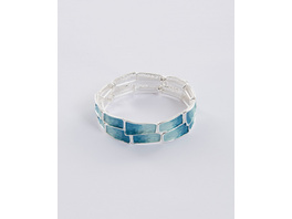 Armband mit türkisem Farbverlauf