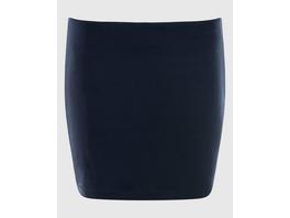 Kaschierende Shirt-Verlängerung in blau