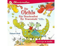 Die Olchis. Ein Drachenfest für Feuerstuhl und andere Geschichten (CD)